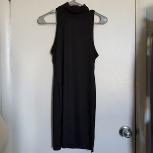 Nasty Gal Sleeveless Turtleneck Bodycon Dress Sz 8